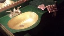 Das sprichwörtliche goldene Waschbecken